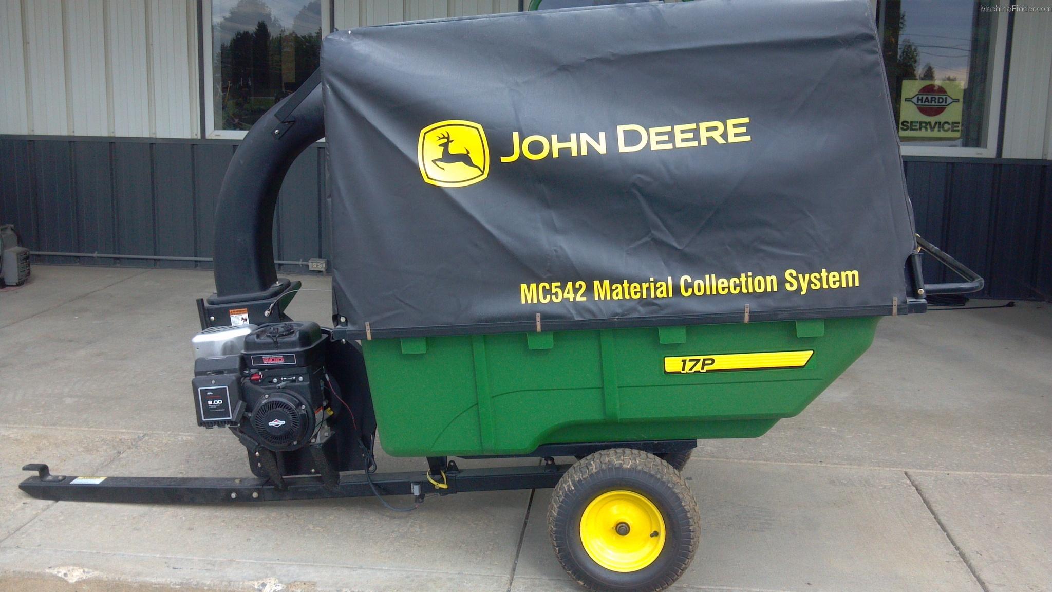 John Deere 44 Sweeper : John deere in lawn sweeper car interior design