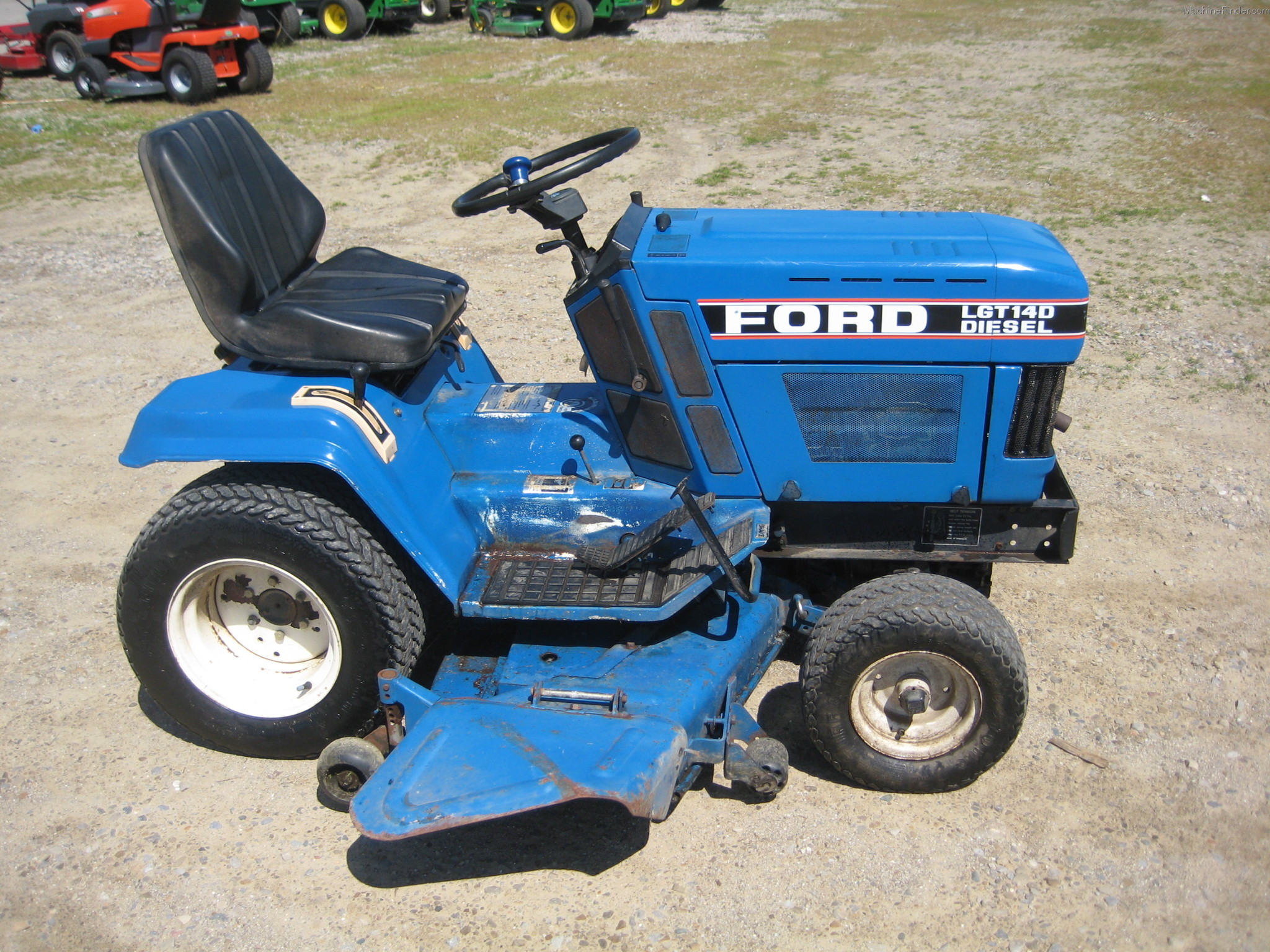 Ford Tractor Accessories : Ford lawn tractor parts manual