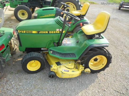 John Deere Gt262 : John deere gt deck lawn garden and commercial