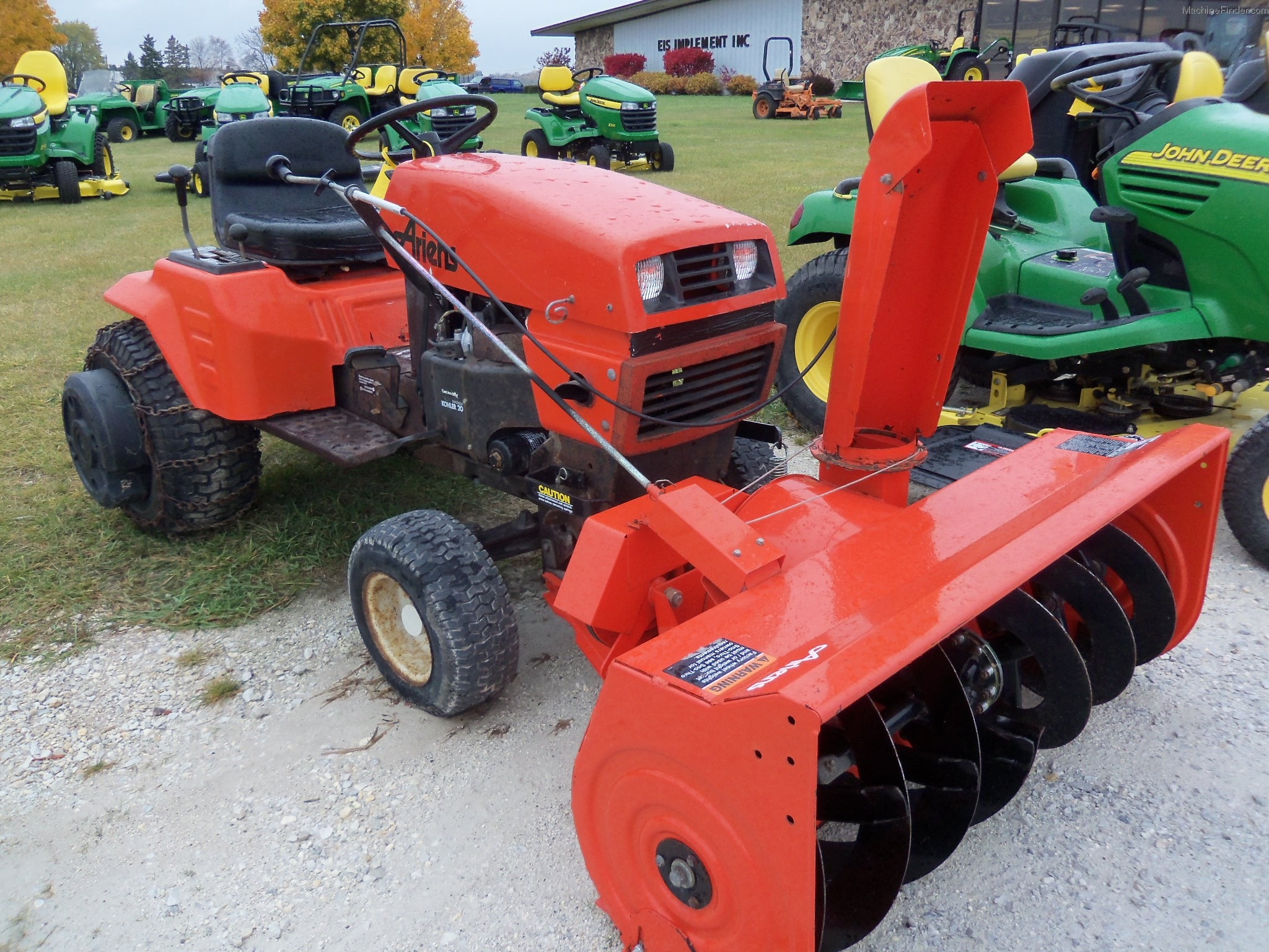 Ariens Lawn Tractor Attachments : W type engine john deere free image for user